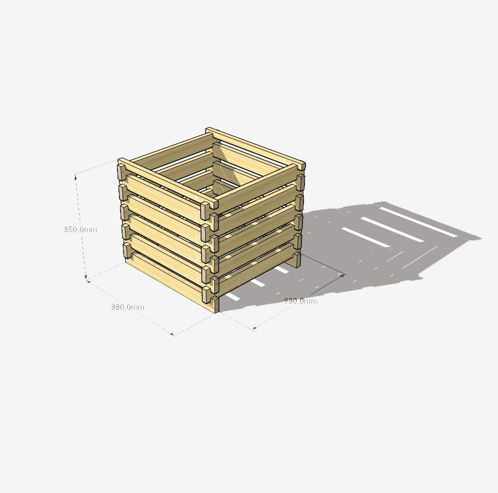 Lesen kompostnik
